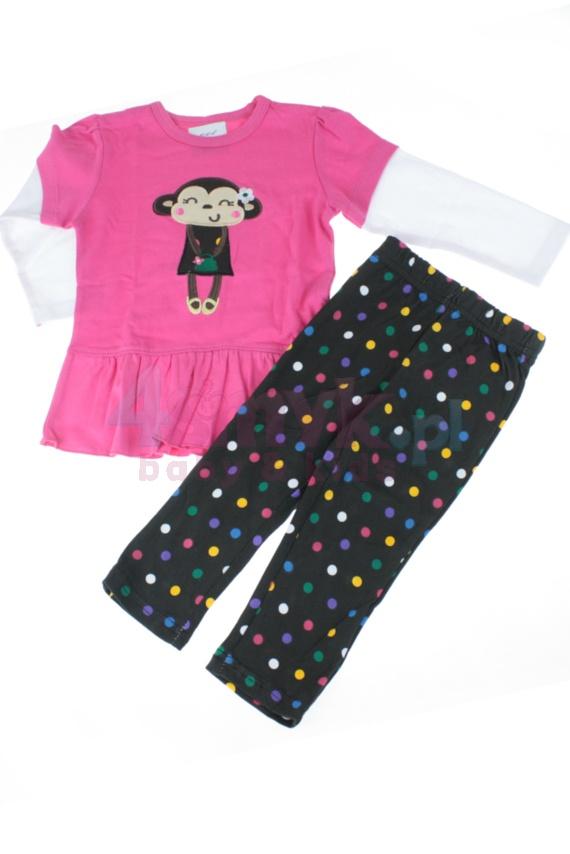 Obraz główny Komplet dziewczęcy bluzeczka i legginsy